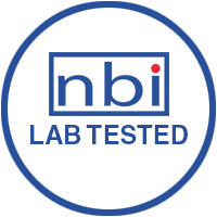 NBI Lab tested badge
