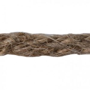 Q2291 Round Jute Braid 4mm