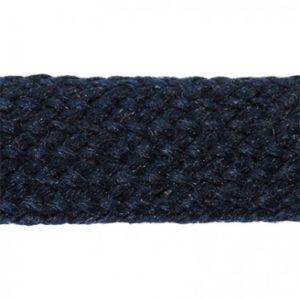 Q3985 Flat Braided Polyester Cord 8mm
